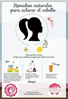 Remedios-naturales para aclarar el cabello
